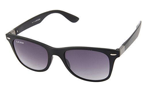 Cocaine nicht polarisierte zusammengesetzte Linse 100% uv Schutz wayfarer Sonnenbrille