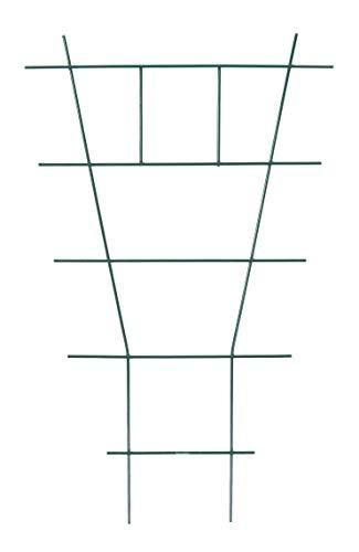 Buri Rankhilfe für Topfpflanzen Leiterförmig 38x24cm Blumenspalier Rankgitter Stütze