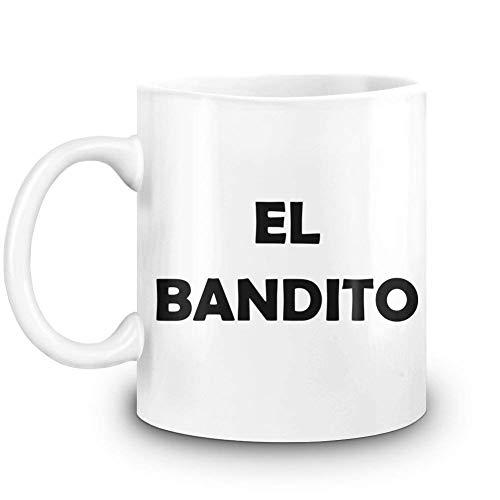 (El Bandito Custom Printed Coffee Mug - 11 Oz - High Quality Ceramic Cup)