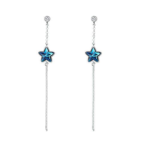 adan-banfi-meteor-oceano-azul-brillante-estrella-largo-gota-moda-pendientes-largos-con-cristales-de-