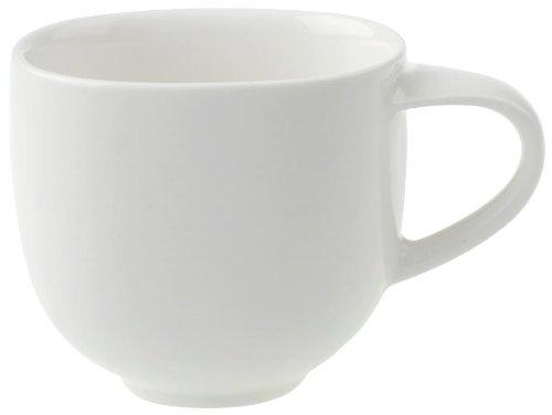 Villeroy & Boch Urban Nature Mokka-/Espressotasse, 80 ml, Premium Porzellan, Weiß
