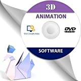3D Animation Graphics Cartoons Design Software Disc DVD