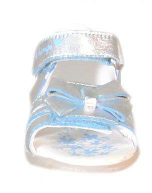 Primigi-Primigi Sandaletti 80184 Bride Fille Cuir Argent Argent - argent