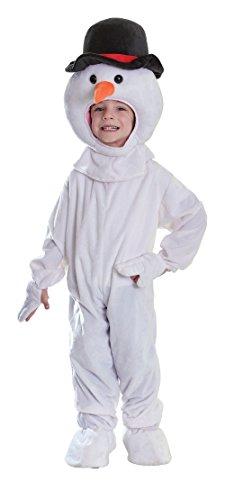 Schneemann - Weihnachten - Kinder-Kostüm - Klein - 116cm