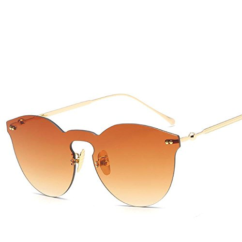BiuTeFang Mens Sunglasses Women Metal Lady Retro Round Sunglasses Men's Glasses