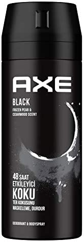 Axe Black Erkek Sprey Deodorant 150 ml 1 Adet