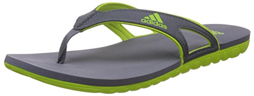 5d16ae5be42 Adidas s78062 Men S Calo 5 M Grey And Green Flip Flops And House Slippers  12 Uk- Price in India
