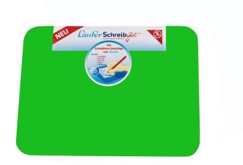 Läufer 30912 SchreibGut Schreibtischunterlage zum Schreiben lernen, 33,5 x 45 cm, grün, für den perfekten Schulanfang