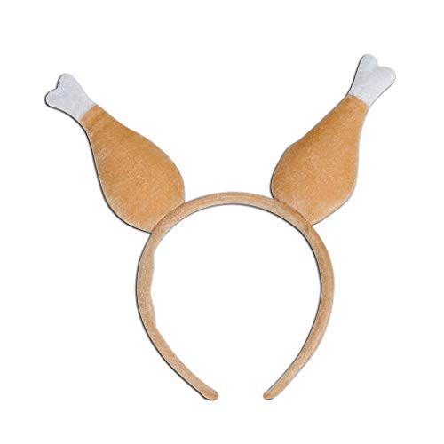 Provide The Best 1pcs / 6pcs Plüsch Türkei Trommelstock-Form-Stirnband BBQ-Party Tanzparty Haarband Thanksgiving-Ferien Cosplay Kopfbedeckung