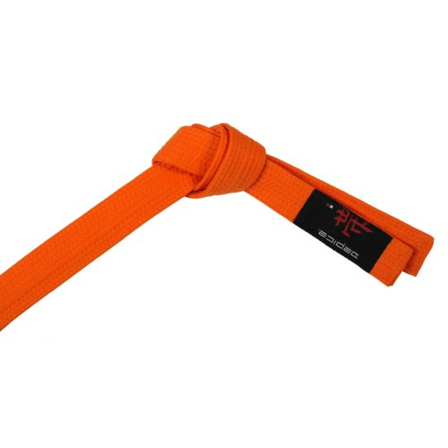 DEPICE Gürtel Karategürtel Judogürtel, Orange, 240 cm, g or