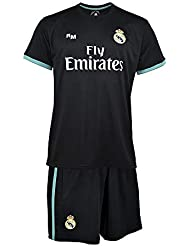 46e8e7323 BOX SET 2ª EQUIPACION REAL MADRID REPLICA OFICIAL 2017-2018-RONALDO Nº 7 -