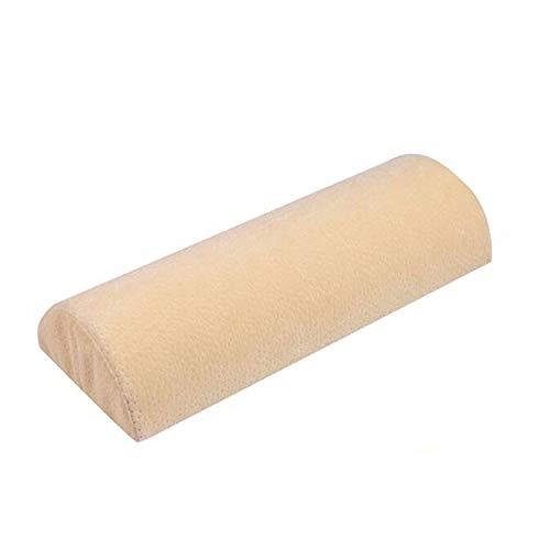 Komfort Sac-schaum (HEEGNPD Hohe Qualität Bambusfaser Kissen Langsam Rebound Knie Bein Kissen Gesundheitswesen Gedächtnisschaumkissen Massagegerät,Beige)