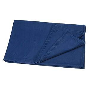 Holthaus Medical Wolldecke Decke Wärmedecke Erste-Hilfe, 160x200cm, blau, waschbar
