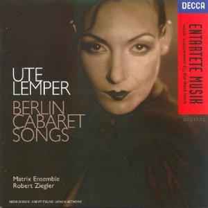 Ute Lemper-Cabaret Songs
