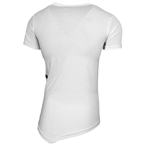 Rusty Neal Herren T-Shirts T-Shirt weiß weiß Weiß