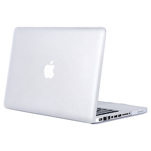 MOSISO Custodia Rigida Compatibile con Vecchio MacBook PRO 13 Pollici A1278 con CD-Rom Case 2012/2011/2010/2009/2008 Plastic Case Cover Rigida Copertina,Frost