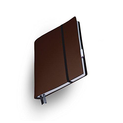 Whitebook Soft S208-ML, modulares Notizbuch, Veaux Prestige, geschnitten, Capucino, 240 S. Papier FSC (iPad Mini & Samsung Tab 8