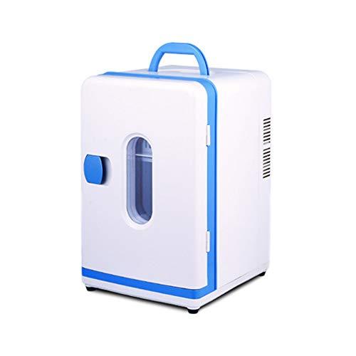 Tisch Mini Gefrierschrank & Thermoelektrische Lebensmittel 12 L Tragbare Elektrische Kühlbox Getränke Kühler Auto Auto Kühlschrank Gefrierschrank Ruhig Camping Kühlbox Mini Dual Use