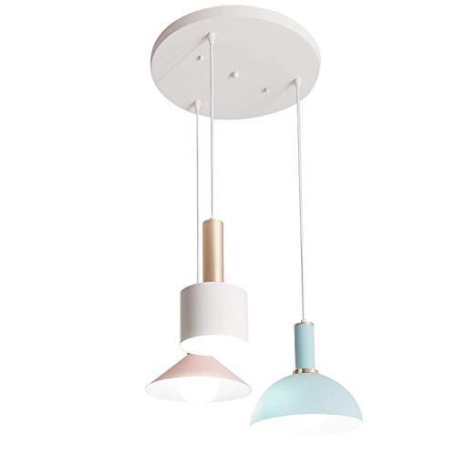 Lampen Pendelleuchte Deckenleuchte Hängelampe Deckenbeleuchtung Nordic Lampen Drei Restaurants Licht Kreative Ins Bar Tischlampe Einfache Ikea Schlafzimmer Nachttischlampe Macaron Kronleuchter