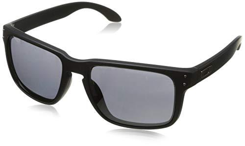 Oakley Herren Sonnenbrille Holbrook Matte Black Iridium (S3), 55