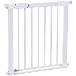 Safety 1st 'Easy Close' Barrera de seguridad metálica para puertas, color blanco