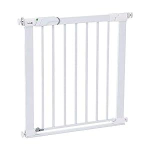 seguridad: Safety 1st 'Easy Close' Barrera de seguridad metálica para puertas, color blanco