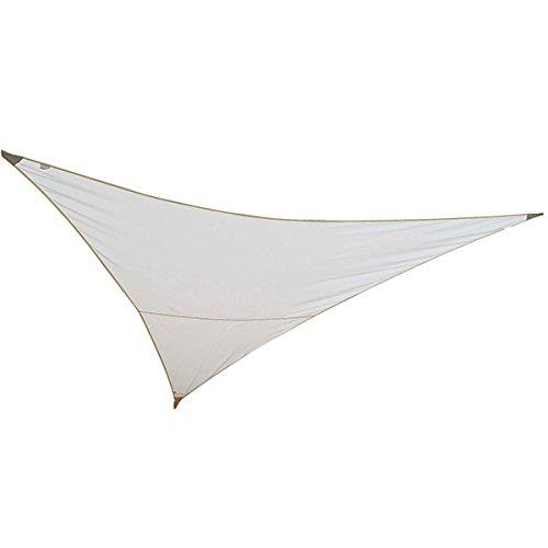 Jardiline - vs555 sable - Voile d'ombrage triangulaire 5x5x5m sable SERENITY