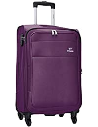d332ce4d7934 Princeware Bonn Polyester 78 cms Purple Softsided Check-in Luggage (6734  -PP)