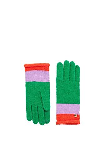 ESPRIT edc by Accessoires Damen Handschuhe 098CA1R001, Grün (Green 310), One Size (Herstellergröße: 1SIZE)