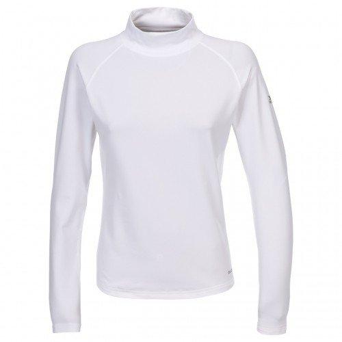 Trespass – Camiseta térmica de cuello alto y vuelto manga larga para Esquí Modelo Emelia TP75 Mujer Señora – Invierno/Trekking/Frio /Trabajar