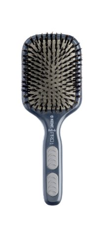 Kent Medium Bristle Cushion Brush, Grey
