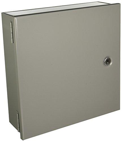 Hoffman A12N124 NEMA 1 Gehäuse, Stahl, klein, 30,5 x 30,5 x 10,2 cm, Grau Hoffman-box