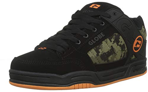 on sale d662d c313c GLOBE Tilt, Men s Skateboarding Shoes Skateboarding Shoes, Black  (Black Camo Orange