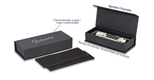 Albainox - 34168 - Caja Negra imantada 11.5 x 4 x