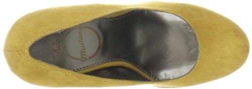Mustang 3084201/6 Damen Klassische Pumps Gelb (Gelb 6)