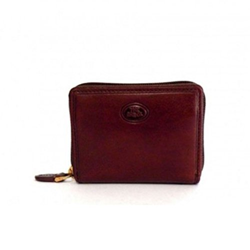 The Bridge cardholder zip leither brown