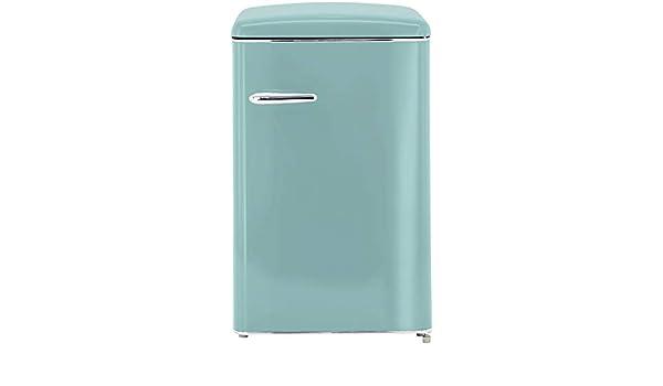 Amica Retro Kühlschrank Ohne Gefrierfach : Exquisit rks rva tb retro kühlschrank eek a liter