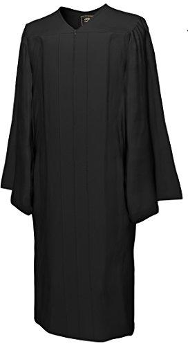 College Fashion - Doktorhüte,Talare, Accessoires Talar GO GREEN, schwarz, Größe S -