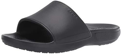 sports shoes 26ab4 07e11 Crocs Classic II Slide U, Sandalias de Punta Descubierta Unisex Adulto,  Negro (Black