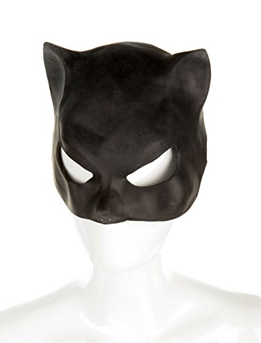 Maske Katze Latex keine Größe (Katze Maske Latex)