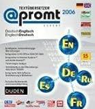 @promt Expert 2006 Volltextübersetzer Deutsch <-> Englisch: Übersetzung von DOC, RTF, TXT, HTML, PDF-Dokumente, E-Mails, Internetseiten, Tiff und JPG ... und Soziologie, Import von Wörterbüchern