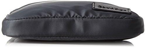 Calvin Klein - Ease Flat Crossover, Borse a spalla Uomo Blu (Dark Shadow)