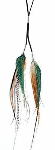 Collana Padiglione auricolare stilografica-Multicolore-Ruby Feathers