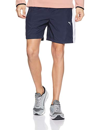 Puma Men's Shorts (85437403_Peacoat White_Medium)