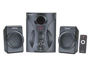 T-SERIES M 150 BT 2.1 USB & MMC & D.FM Multimedia Speaker System with Bluetooth (Black)