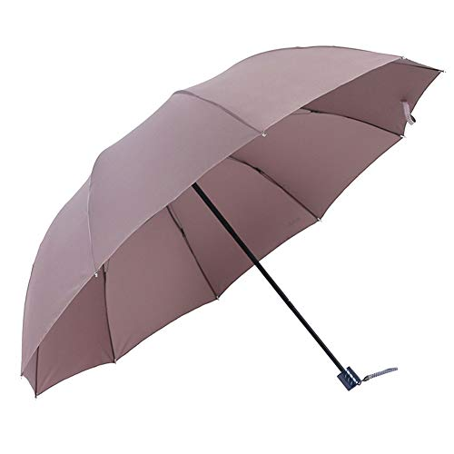 DaoRier Kaki à Séchage Rapide de Voyage Parapluie Automatique Parapluie Pliable