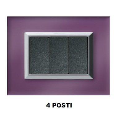 marlanvil 7254. Ti. VL. C 4P. techno-ice violett liz-cr/Chrom