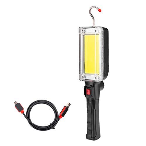 Torcia esterna led,zolimx emergenza portatile del garage della casa del lavoro tenuto in mano della torcia della torcia elettrica leggera di ispezione della pannocchia