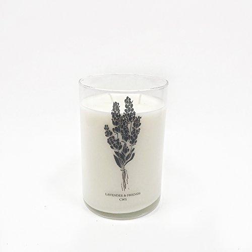 Neroli Soja-kerze (Candle Work Candles Kerze Arbeit Kerzen CWS Soja Duftkerze, Weiß)