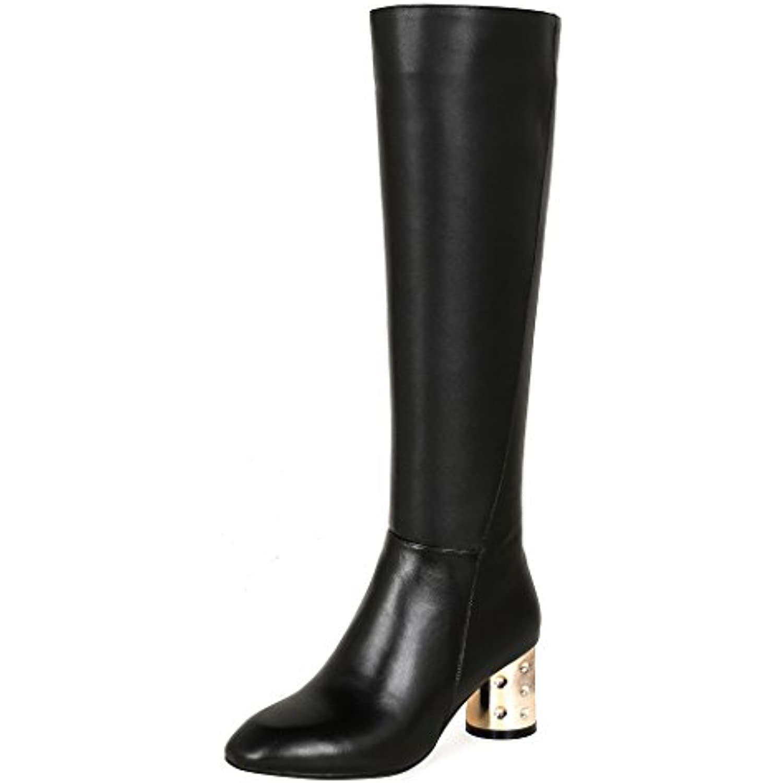 QIN&X Stiletto Bottillons femmes hauts talons Chaussures Chaussures Bottillons Stiletto courts - B0787YWBHH - d8391a